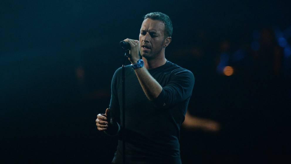 Coldplay-Sänger Chris Martin bei den Brit Awards 2017