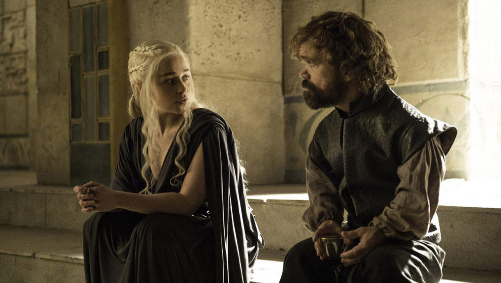 "Daenerys Targaryen und Tyrion Lannister in ""Game Of Thrones"""