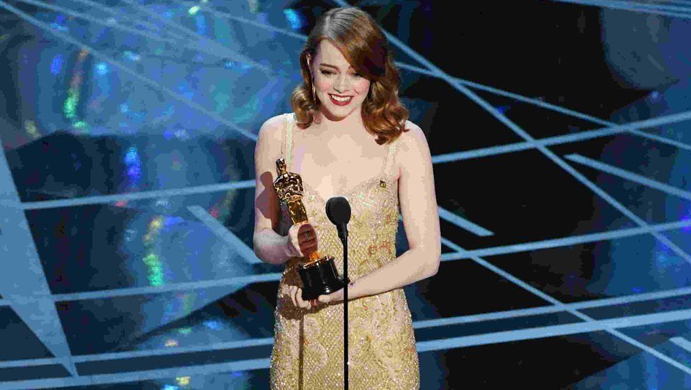 Emma Stone wird für ihre schauspielerische Leistung in 'La La Land' mit einem Oscar belohnt