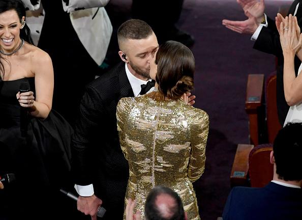 Mit seinem strahlenden Auftritt gewann Justin Timberlake zwar keinen Oscar – doch seiner Stimmung tat das keinen Abbruch.