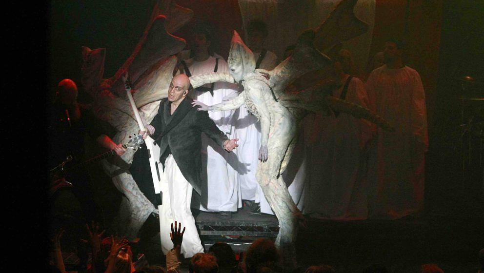 LONDON, UNITED KINGDOM - OCTOBER 27: Devin Townsend performs at The Roundhouse on October 27, 2012 in London, England. (Photo