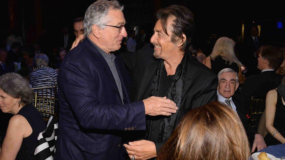NEW YORK, NY - APRIL 02:  Robert De Niro and Al Pacino attend the SeriousFun Children's Network Gala at Cipriani 42nd Street