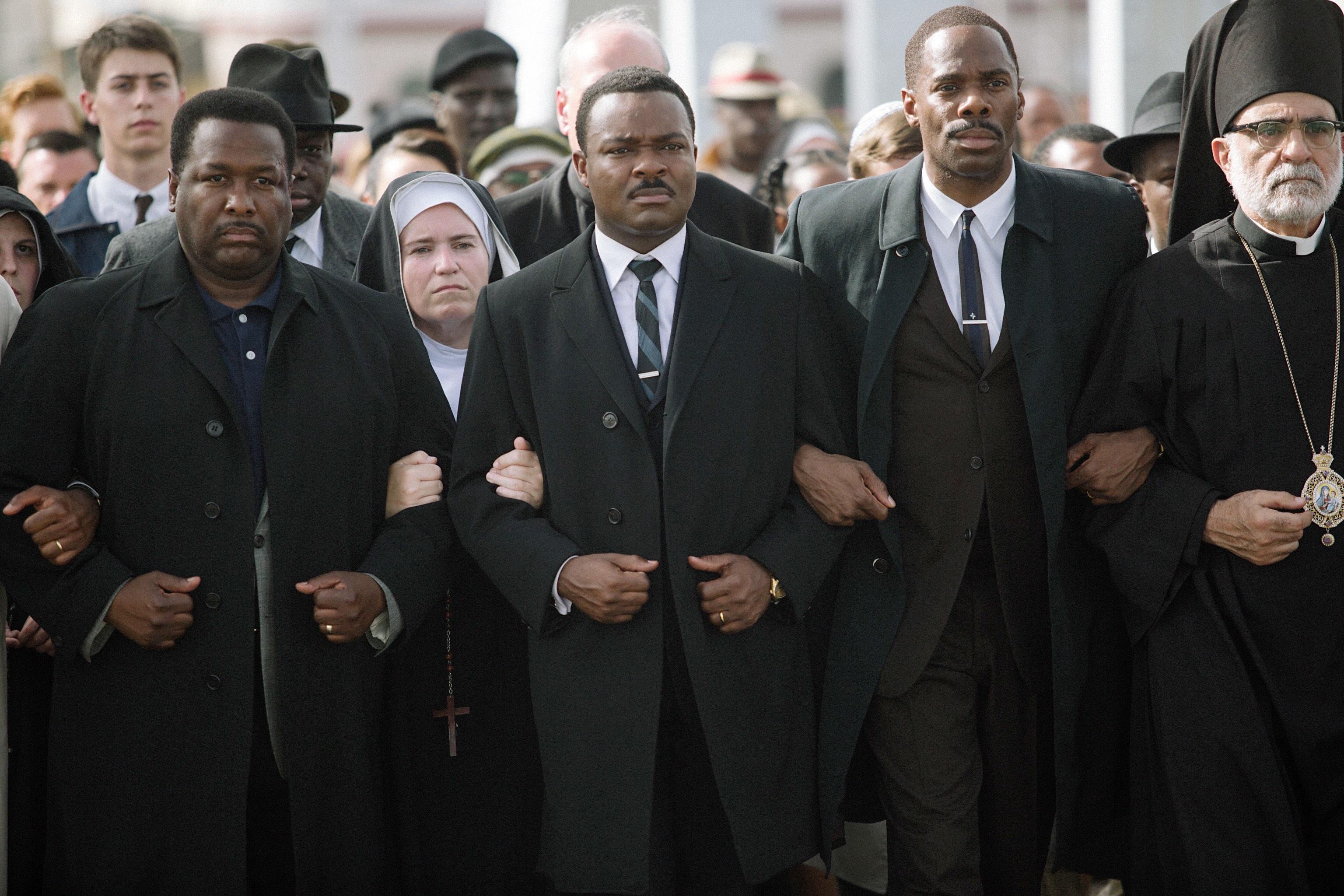 """Der britische Schauspieler David Oyelowo als Martin Luther King Jr. in """"Selma"""""""