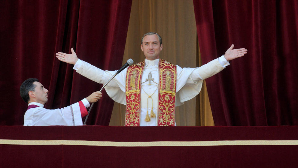 "Jude Law in ""The Young Pope"""