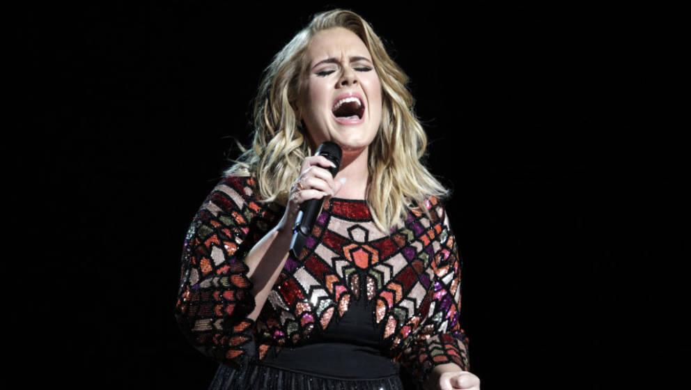Sängerin Adele bei den Grammys