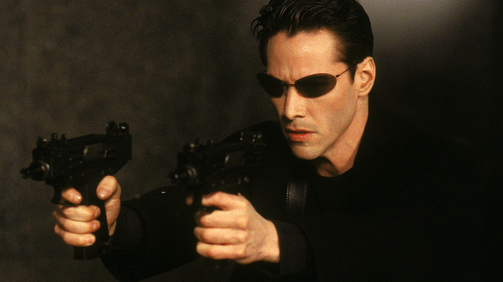 "Kann Kung Fu: Keanu Reeves als Neo in ""The Matrix"""