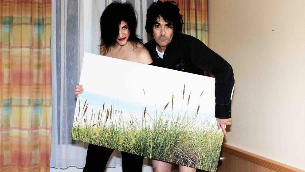 Cristina Martinez mit Gatte Jon Spencer beim ROLLING STONE Weekender 2016