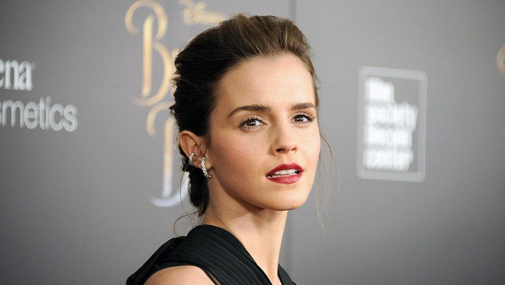 """Emma Watson bei einem Screening von """"Die Schöne und das Biest"""" in New York"""