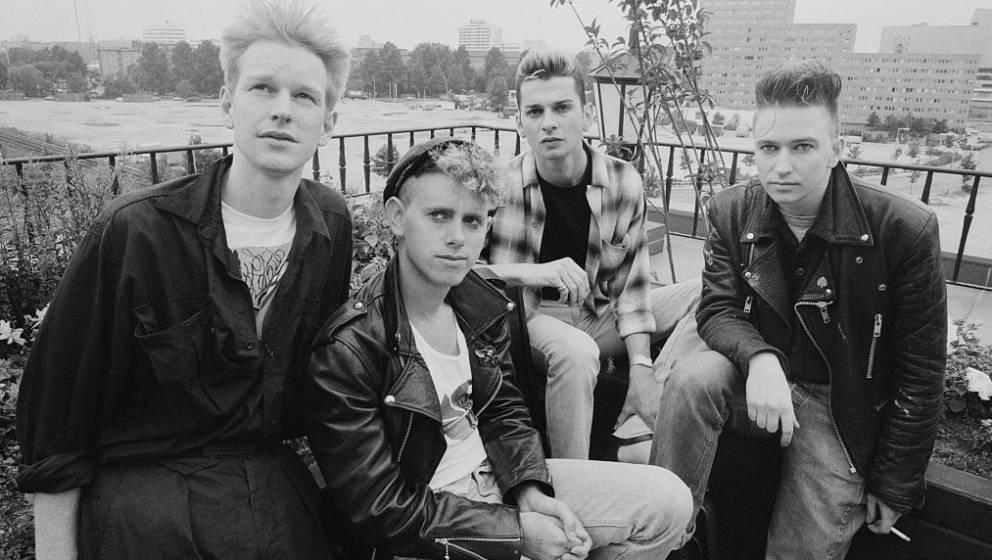 """Depeche Mode 1984 in Berlin – vier Jahre später spielten sie ihre """"Music for the Masses""""-Tour."""