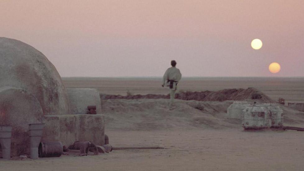 Luke Skywalker auf Tatooine