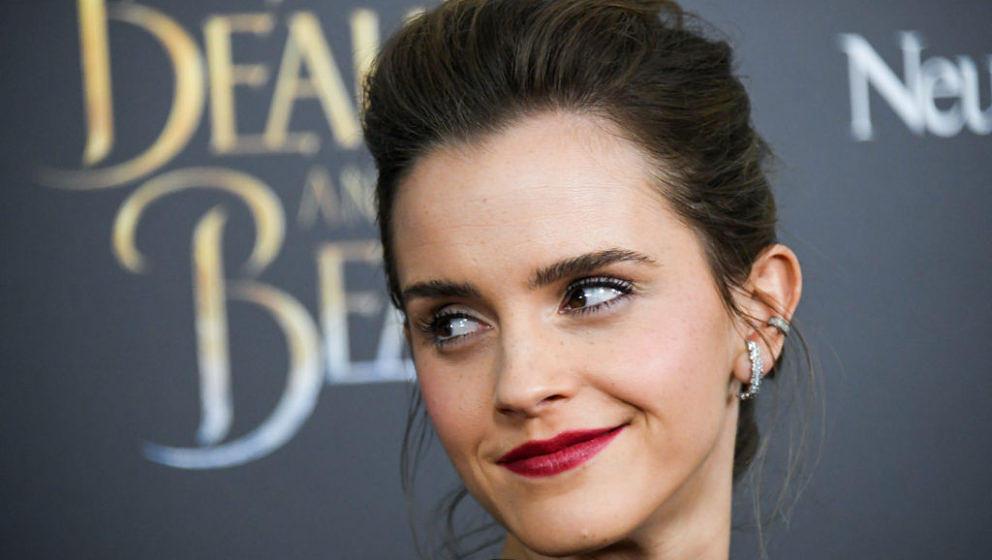 """Schauspielerin Emma Watson bei der Premiere von """"Die Schöne und das Biest"""". Der Film erzielte an seinem ersten Wochenend"""
