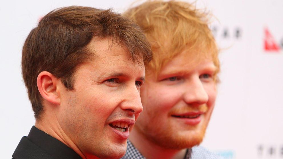 James Blunt und Ed Sheeran sind gut befreundet - so gibt es auch keinen Krach im Tourbus