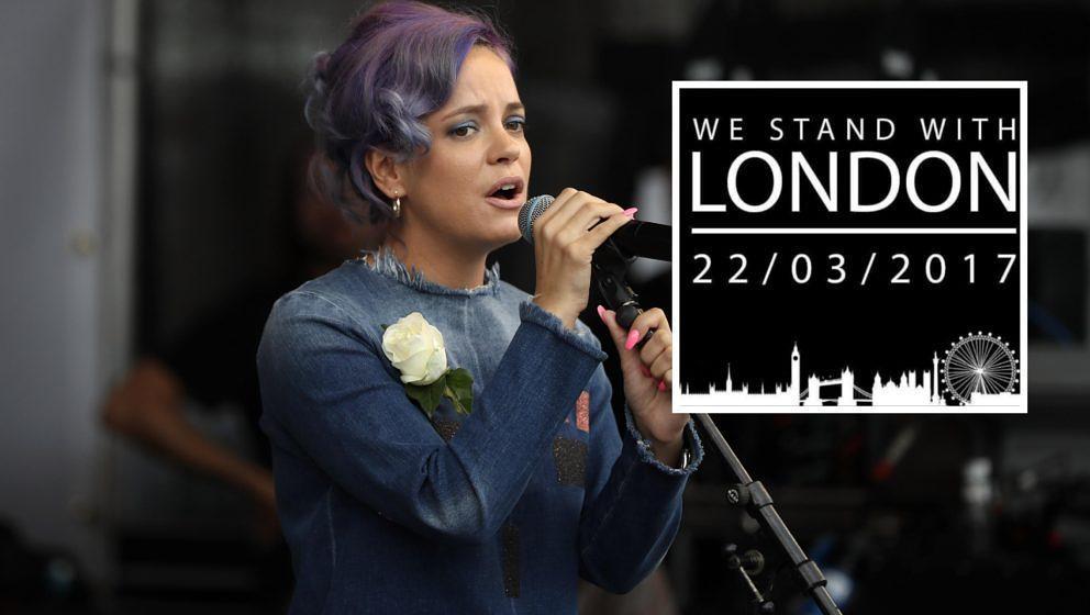 Lily Allen sendet viel Liebe nach London