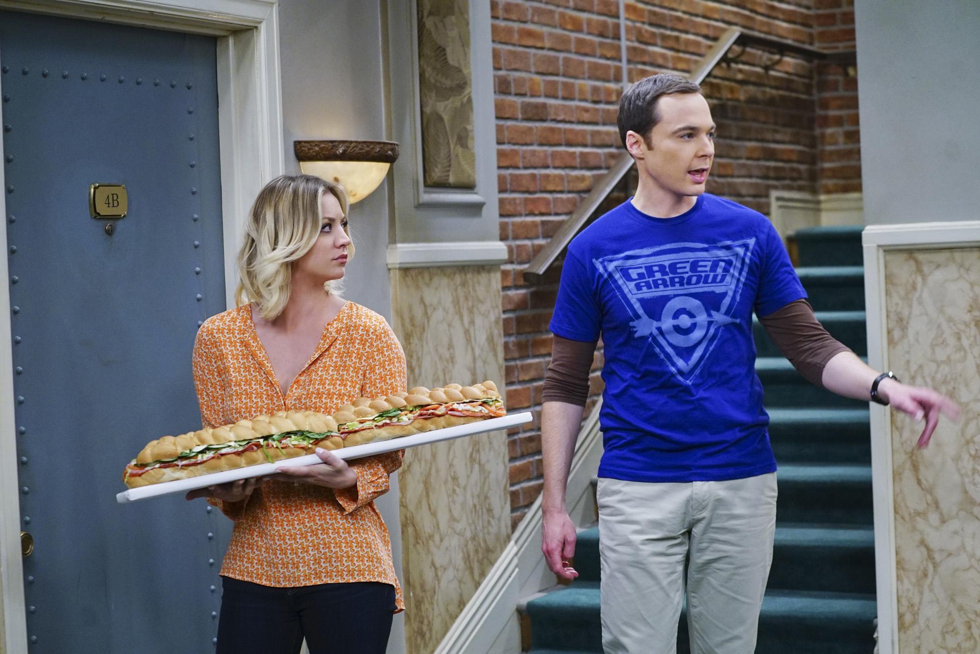 Kaley Cuoco und Jim Parsons (Penny und Sheldon) sahnen in Zukunft richtig ab
