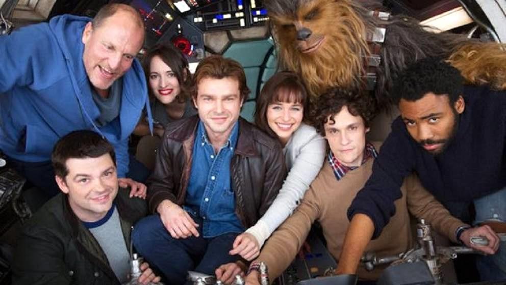 """Szene vom Set von """"Star Wars: Han Solo"""""""