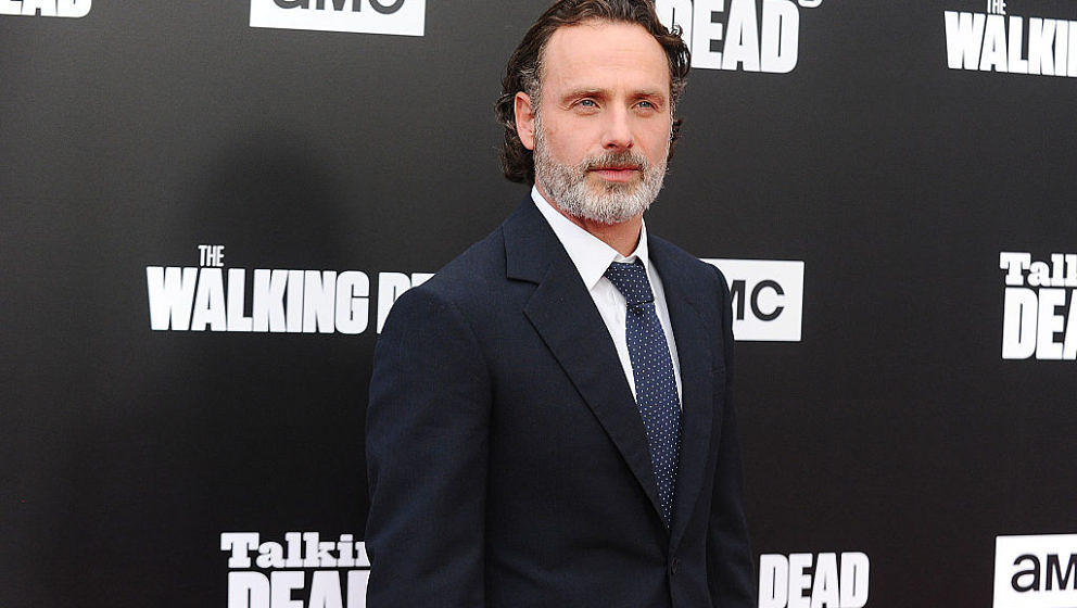 HOLLYWOOD, CA - OCTOBER 23:  Actor Andrew Lincoln attends the live, 90-minute special edition of 'Talking Dead' at Hollywood