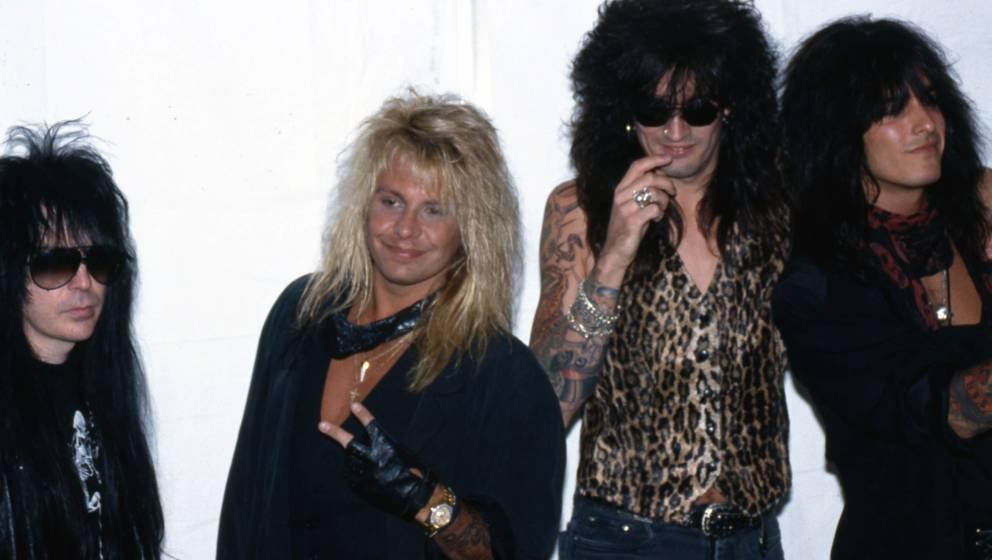 Mötley Crüe in den 80ern