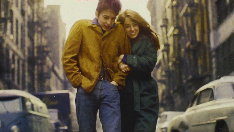 "Cover-Artwork zu ""The Freewheelin' Bob Dylan"" von Don Hunstein"