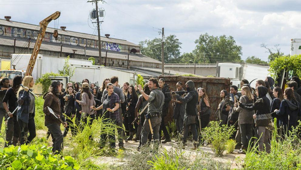 """Umgeben von Feinden: Rick in """"The Walking Dead"""""""