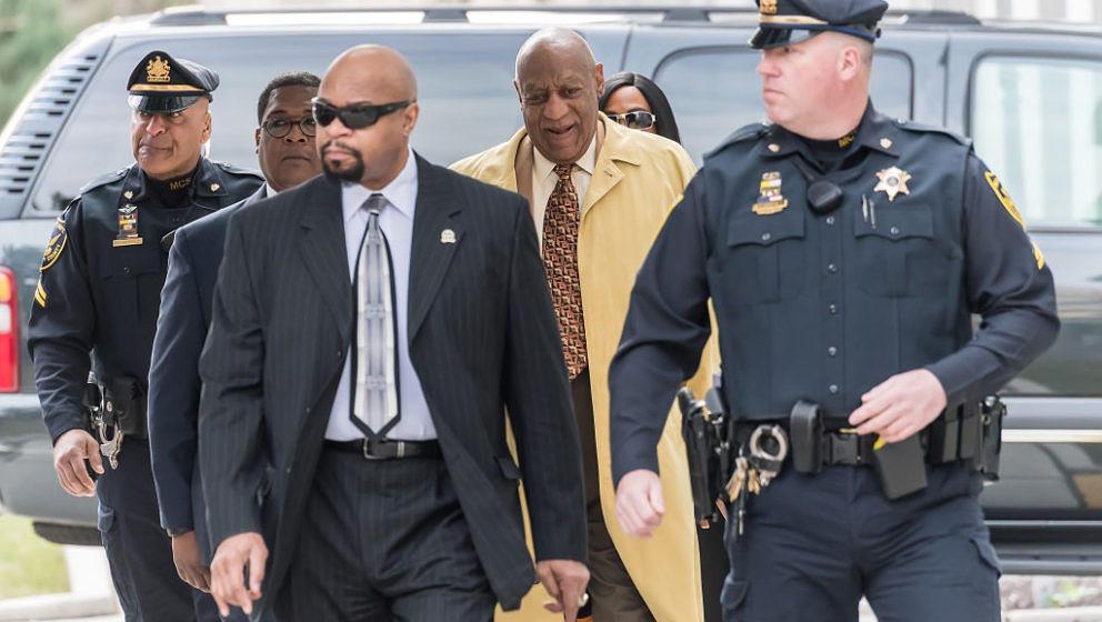 Gute Laune trotz bevorstehendem Prozess bei Bill Cosby.