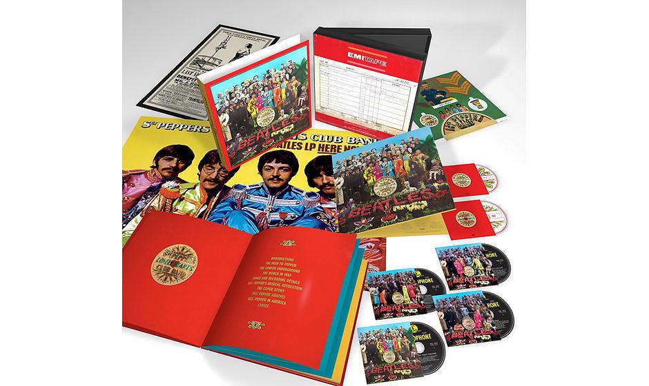 """""""Sgt. Pepper's Lonely Hearts Club Band"""" von den Beatles erscheint als neue Deluxe-Box"""