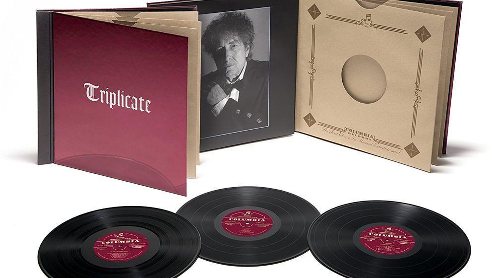 """Bob Dylan: """"Triplicate"""". Empfohlen von Maik Brüggemeyer und Arne Willander"""