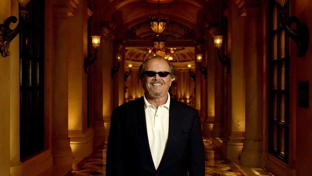 Honoree Jack Nicholson during CineVegas 2004 - Portrait Studio Day 8 at The Venetian Hotel in Las Vegas, Nevada, United State
