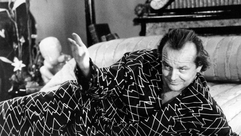 American actor Jack Nicholson as Daryl Van Horne in 'The Witches Of Eastwick', directed by George Miller, 1987. (Photo by Sil