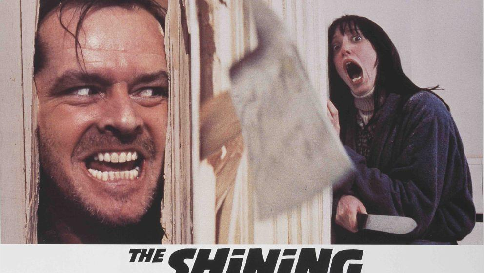 """In Kubricks """"Shining"""" zeigt Nicholson das vielleicht bekannteste Grinsen der Filmgeschichte."""
