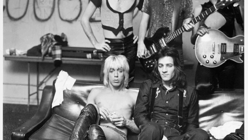 UNSPECIFIED - CIRCA 1970:  Photo of Iggy Pop & The Stooges  Photo by Michael Ochs Archives/Getty Images