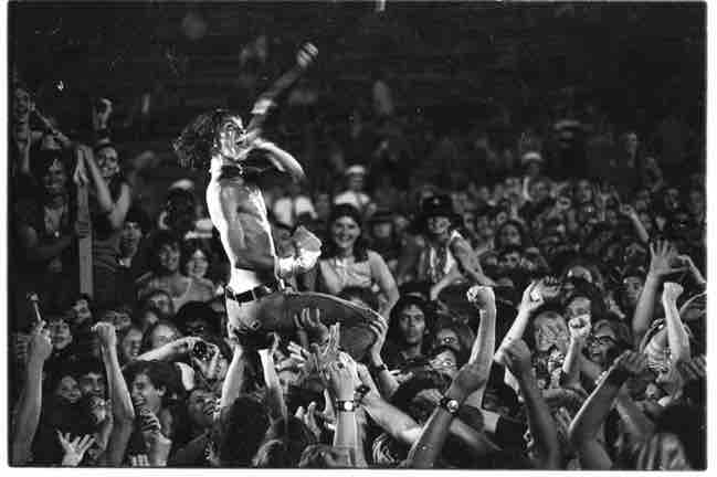UNSPECIFIED - CIRCA 1970:  Photo of Iggy Pop  Photo by Tom Copi/Michael Ochs Archives/Getty Images