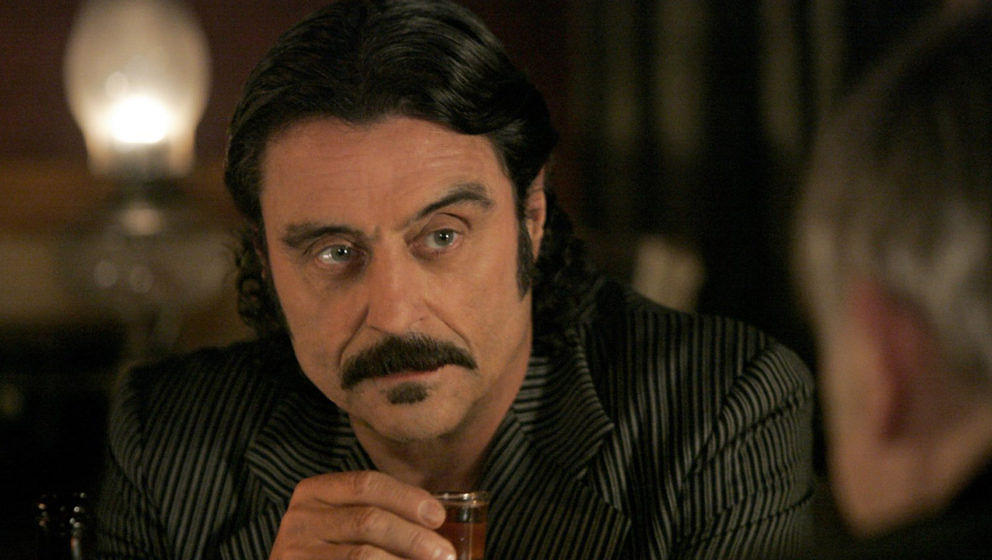 "Ian McShane in ""Deadwood"""