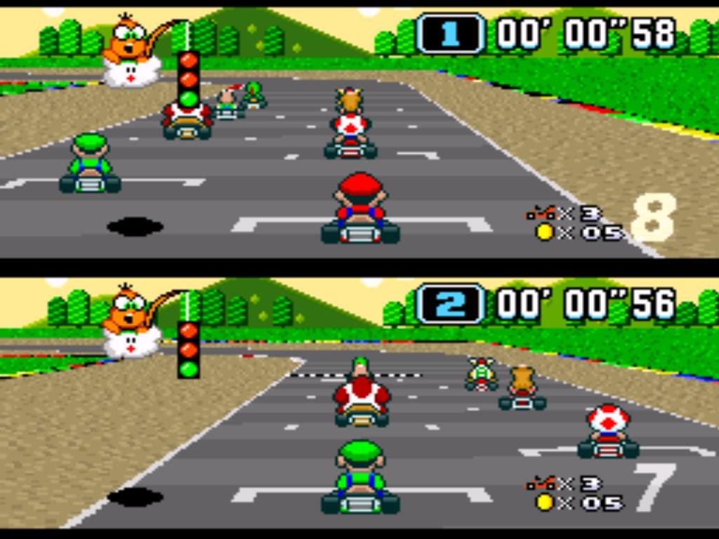 """Eine Runde """"Super Mario Kart"""" gefällig?"""