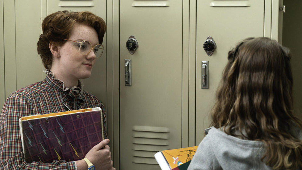 "Shannon Purser als Barb in der Netflix-Serie ""Stranger Things"""
