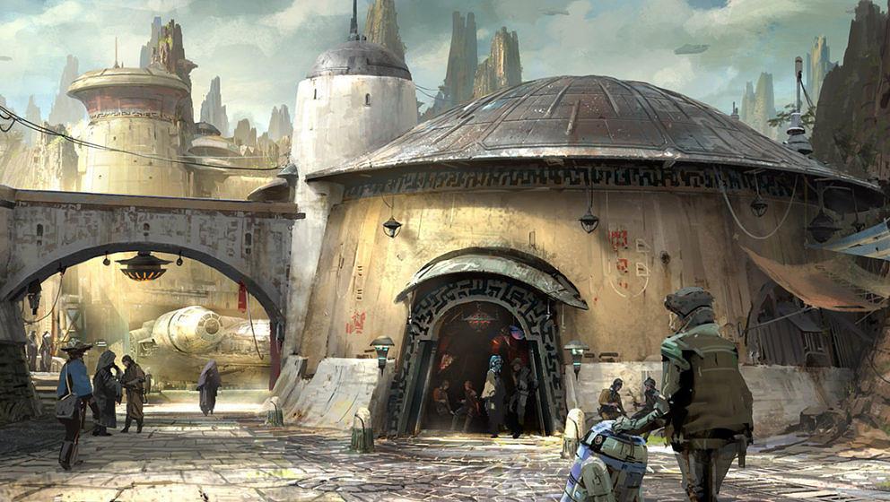 """""""Star Wars Land"""": So stellen sich Künstler den Aufenthalt im Themenpark vor"""