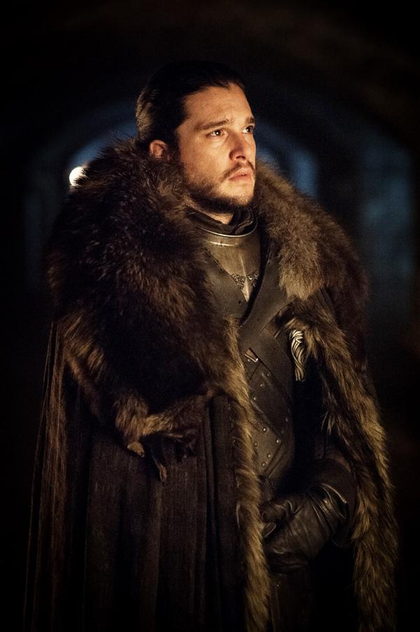 Wo befindet sich Jon Snow auf diesem Bild?