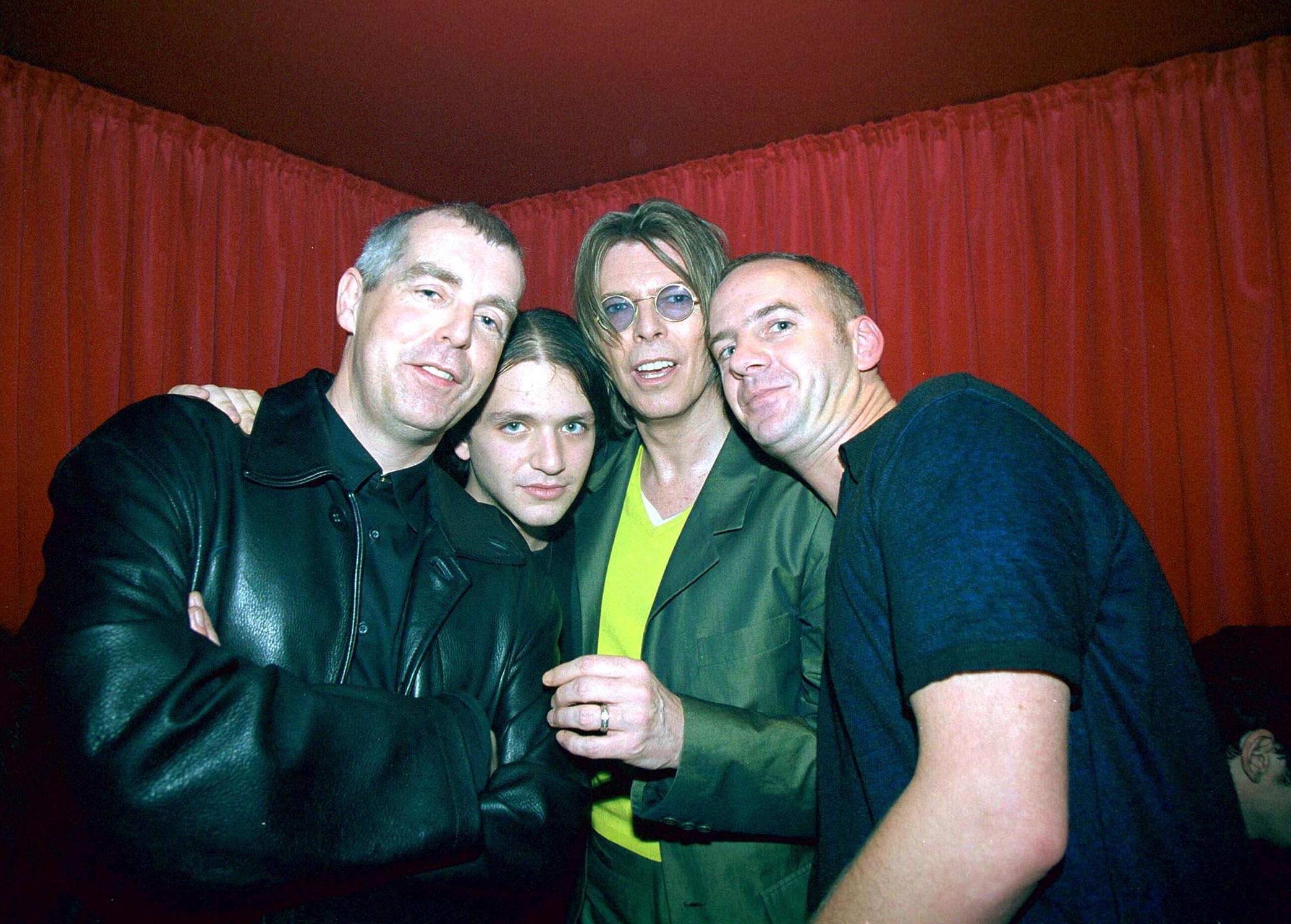 Neil Tennant, Brian Molko (Placebo), David Bowie And Norman Cook (Fatboy Slim)