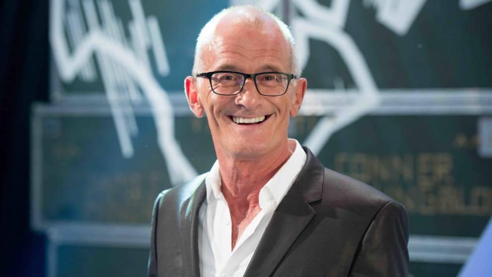 Ray Cokes, Moderator und Jurymitglied des «Anchor»-Awards, blickt am 21.09.2016 in Hamburg während einer Veranstaltung im