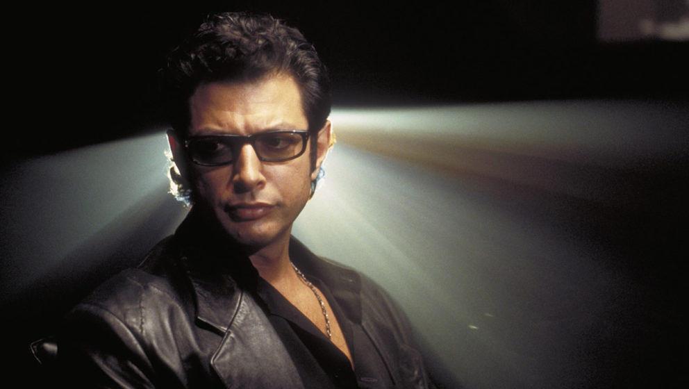 "Jeff Goldblum als Dr. Ian Malcolm im ersten ""Jurassic Park""-Film."