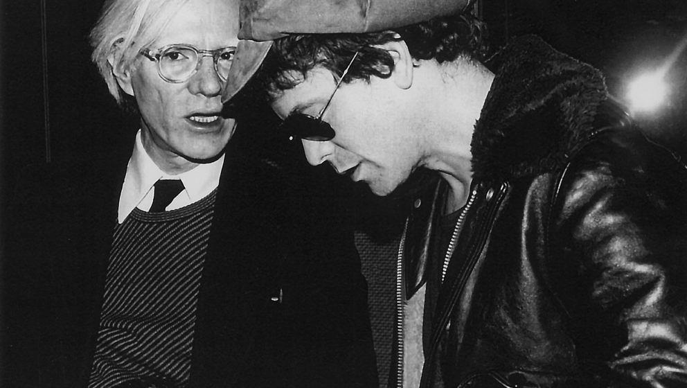 Andy Warhol und Lou Reed