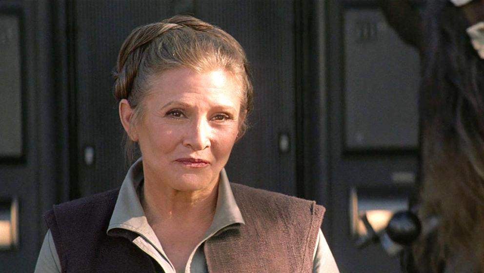 """Leia (Carrie Fisher) soll in """"Star Wars: The Last Jedi"""" eine große Rolle haben"""