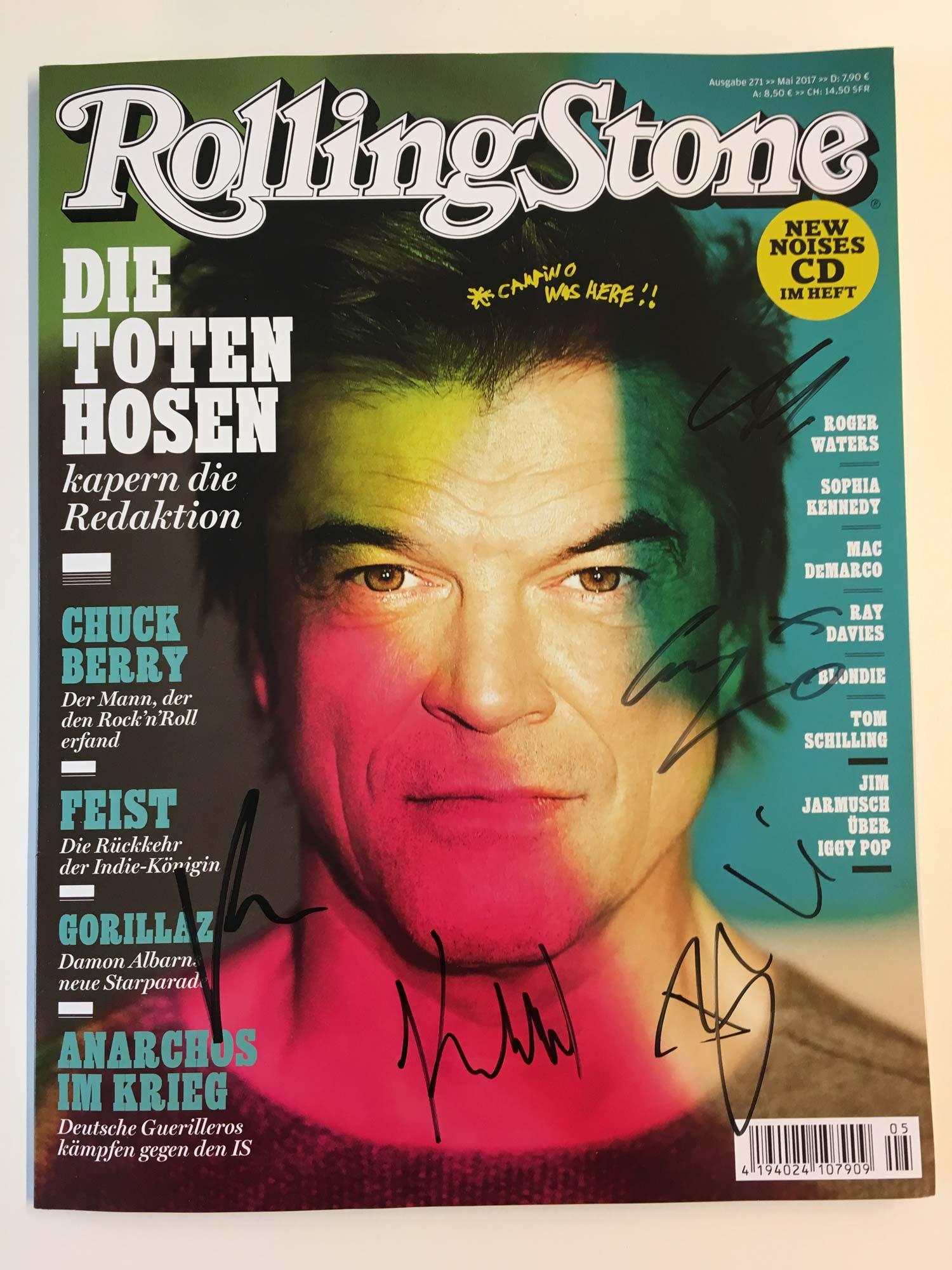 Die Mai-Ausgabe des ROLLING STONE – handsigniert von den Toten Hosen!