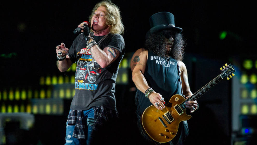 "Guns N' Roses live auf ihrer ""Not In This Lifetime ""-Tour"