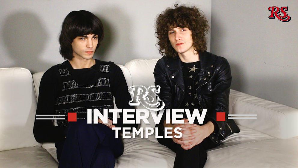 Bassist Thomas Walmsley und Sänger James Bagshaw von Temples