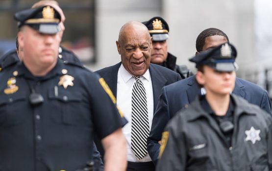 Bill Cosby bei einer Voranhörung zum ersten Prozess im April dieses Jahres.
