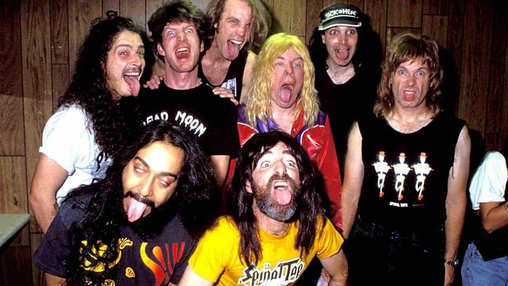 Chris Cornell, Chris Guest, Joe Satriani, Harry Shear and Michael McKean of Spinal Tap (Photo by Jeff Kravitz/FilmMagic, Inc)