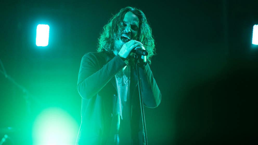 Chris Cornell bei einem Live-Auftritt mit Soundgarden in Atlanta