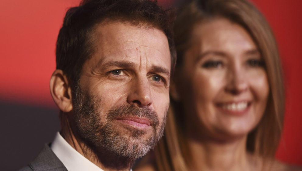 Zack Snyder mit seiner Frau Deborah