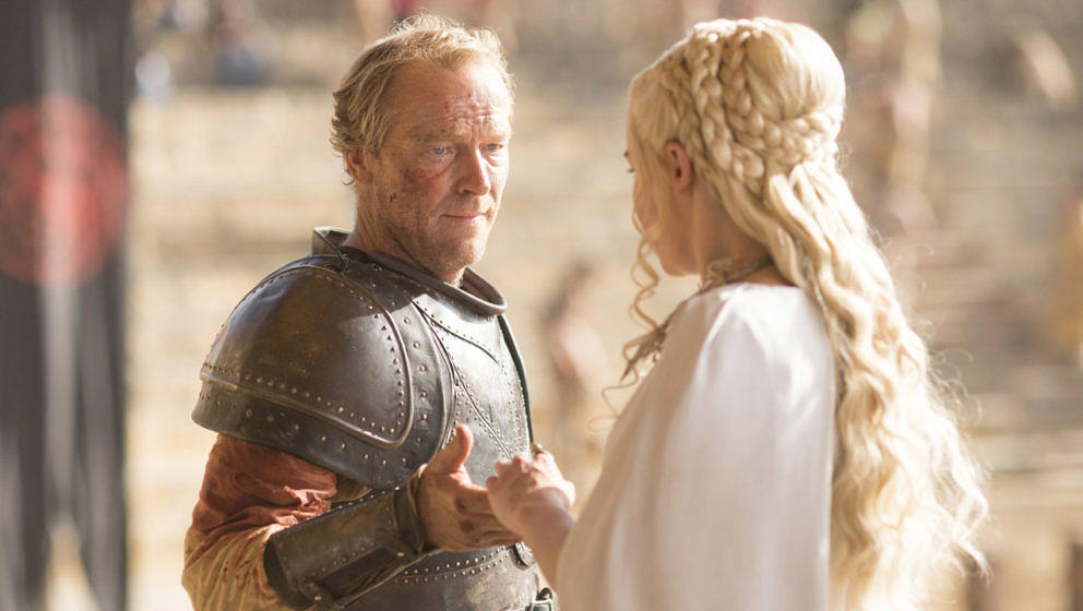 "Iain Glen und Emilia Clarke in ""Game Of Thrones"""