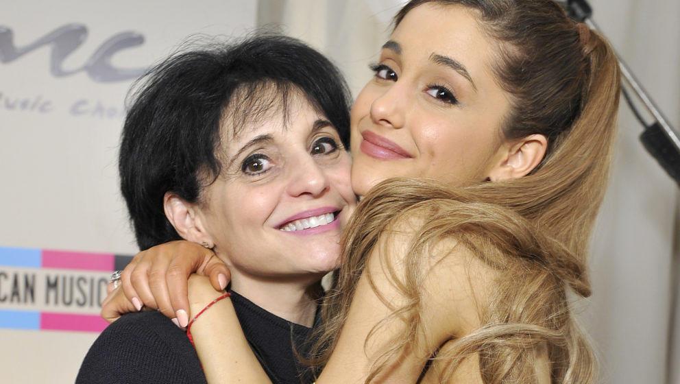 Joan Grande (L.) mit ihrer Tochter Ariana Grande